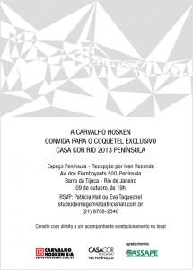 Carvalho Hosken - Casa Cor 2013